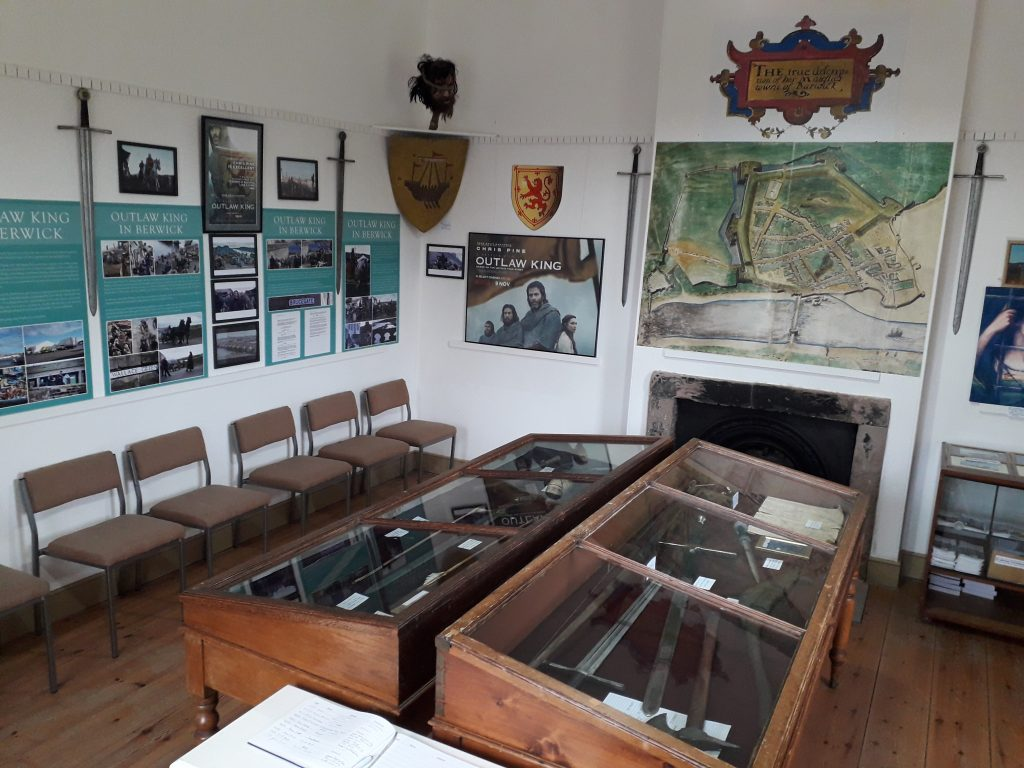 Officers room and Outlaw King display